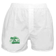 kiss me nigerian Boxer Shorts