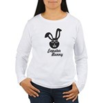 hipster bunny 2 Long Sleeve T-Shirt