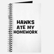 Hawks Ate My Homework Journal