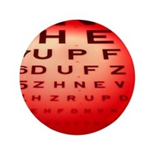 View of a Snellen eye test chart - 3.5
