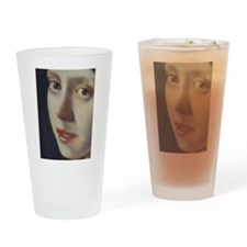 Girl with the pearl earring Drinking Glass