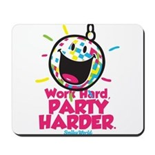 Party Hard Smiley Mousepad