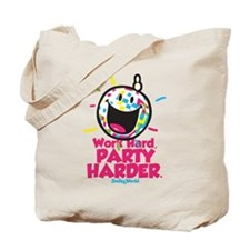 Party Hard Smiley Tote Bag