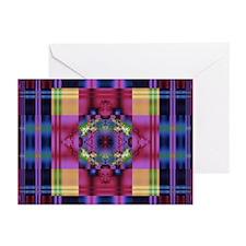 Jeweled Plaid Cards