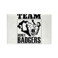 Team Honey Badgers Rectangle Magnet