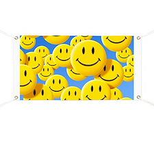 Smiley face symbols - Banner