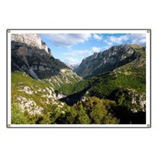 The Vikos Gorge in Greece - Banner