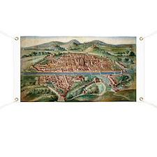 16th Century Plan of Florence - Banner