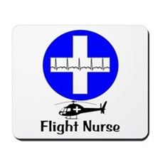 flight nurse 2013 blie lights Mousepad