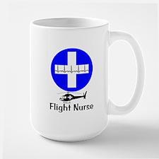 flight nurse 2013 blie lights Mug
