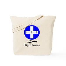 flight nurse 2013 blie lights Tote Bag