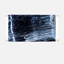 Crocidolite asbestos mineral - Banner