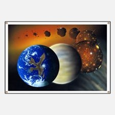 Formation of the Earth, artwork - Banner