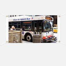 Hybrid bus in Chicago - Banner