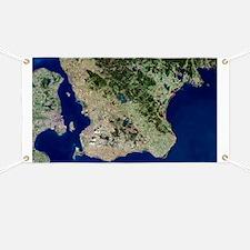 Malmo, satellite image - Banner