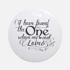 Song of Solomon Ornament (Round)