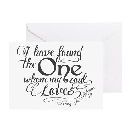Song of Solomon Greeting Card