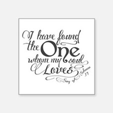 Song of Solomon Sticker