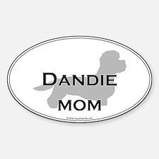 Dandie MOM Oval Decal