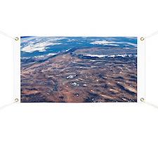 Southwestern USA, ISS image - Banner