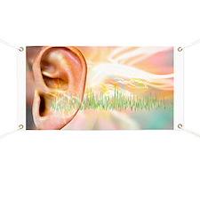 Tinnitus, conceptual artwork - Banner