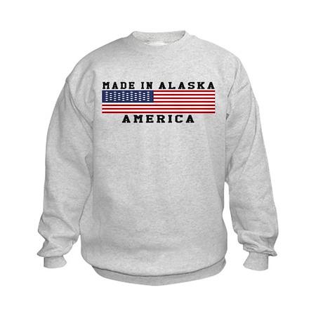 Made In Alaska Kids Sweatshirt