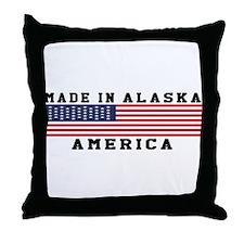 Made In Alaska Throw Pillow