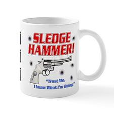 Unique Hammered Mug