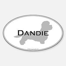 Dandie Oval Decal