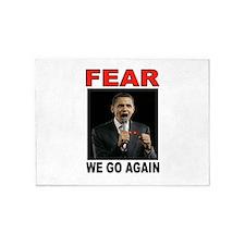 FEAR MONGER 5'x7'Area Rug