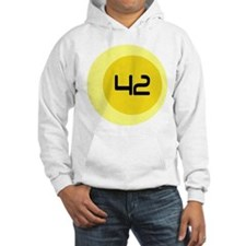 Fourty Two 42 Modern Number Hoodie