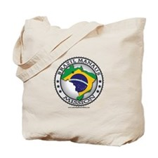 Brazil Manaus LDS Mission Flag Cutout Map 1 Tote B