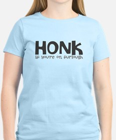 Honk if youre on furlough T-Shirt