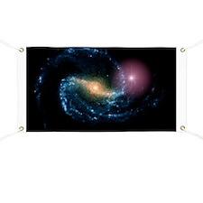 Supernova in galaxy NGC 1300 - Banner