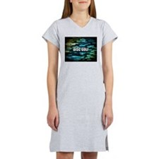 Disc Golf Women's Nightshirt