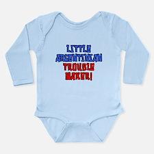 Little Argentinian Trouble Maker Body Suit