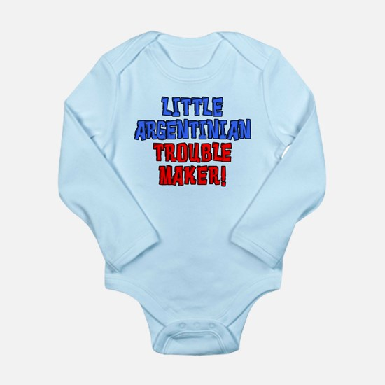 Little Argentinian Trouble Maker Body Suit