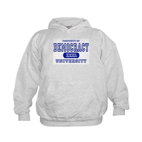 Democracy University Kids Hoodie