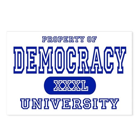 Democracy University Postcards (Package of 8)
