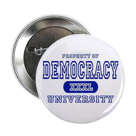 Democracy University Button