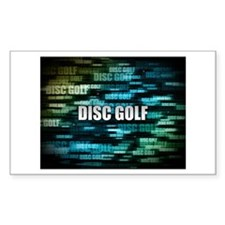 Disc Golf Decal