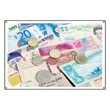 International currency - Banner