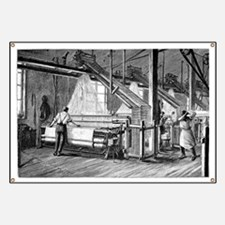 Jacquard loom, 19th century - Banner