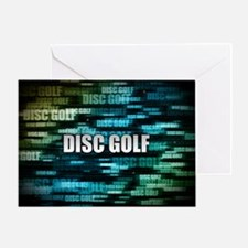 Disc Golf Greeting Card