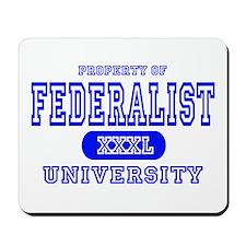 Federalist University Mousepad