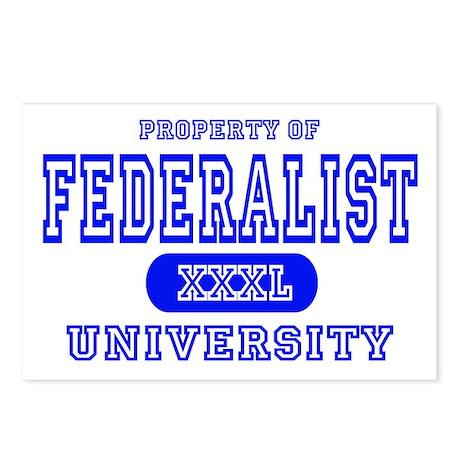 Federalist University Postcards (Package of 8)