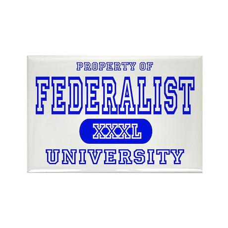 Federalist University Rectangle Magnet (10 pack)