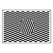 Ouchi illusion - Banner