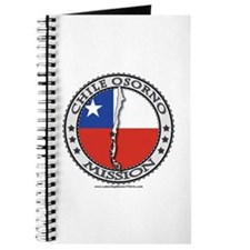 Chile Osorno LDS Mission Flag Cutout Map 1 Journal