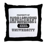 Impeachment University Throw Pillow
